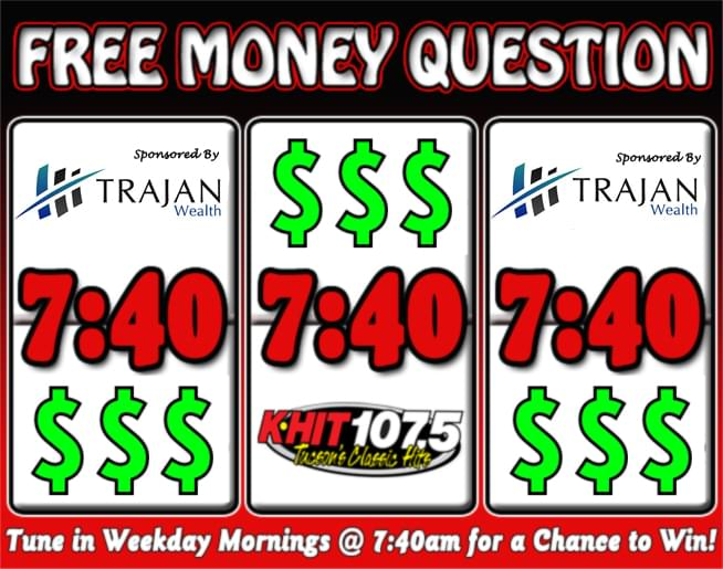 K-HIT 107-5 Free Money Question