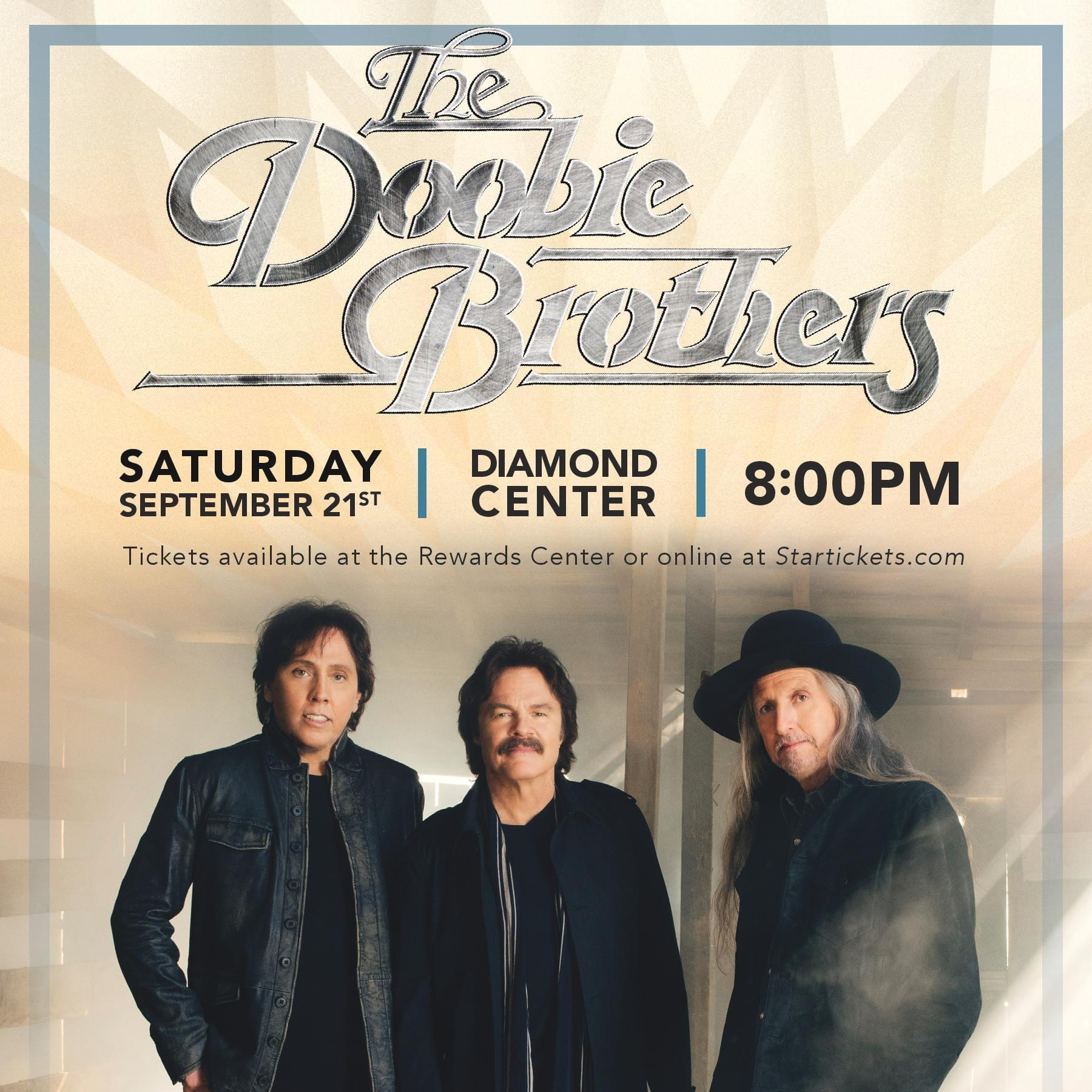 9/21: Doobie Brothers at The Diamond Center