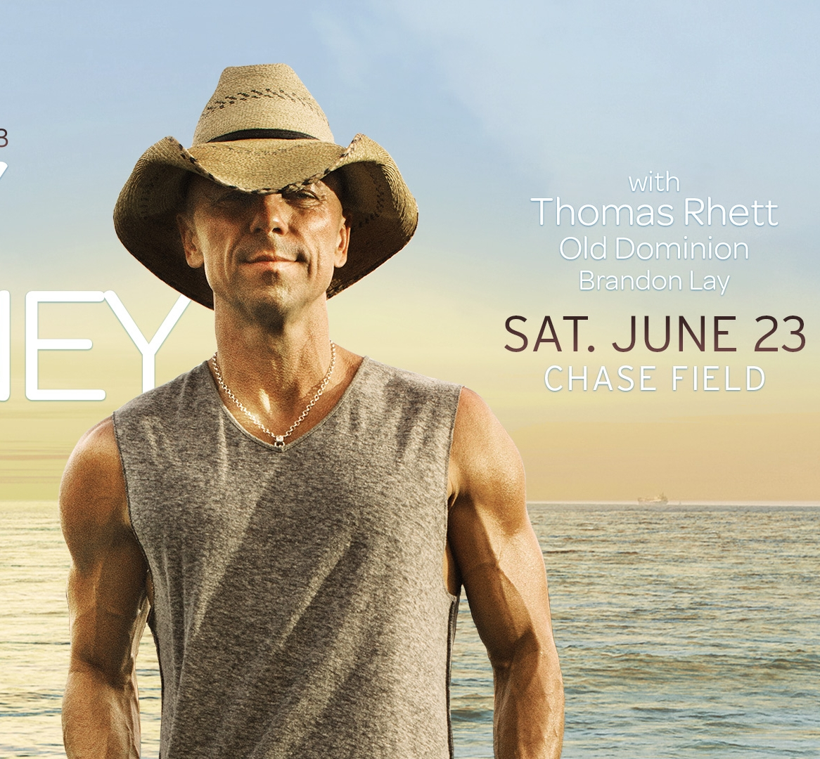 6/23: Kenny Chesney at Chase Field