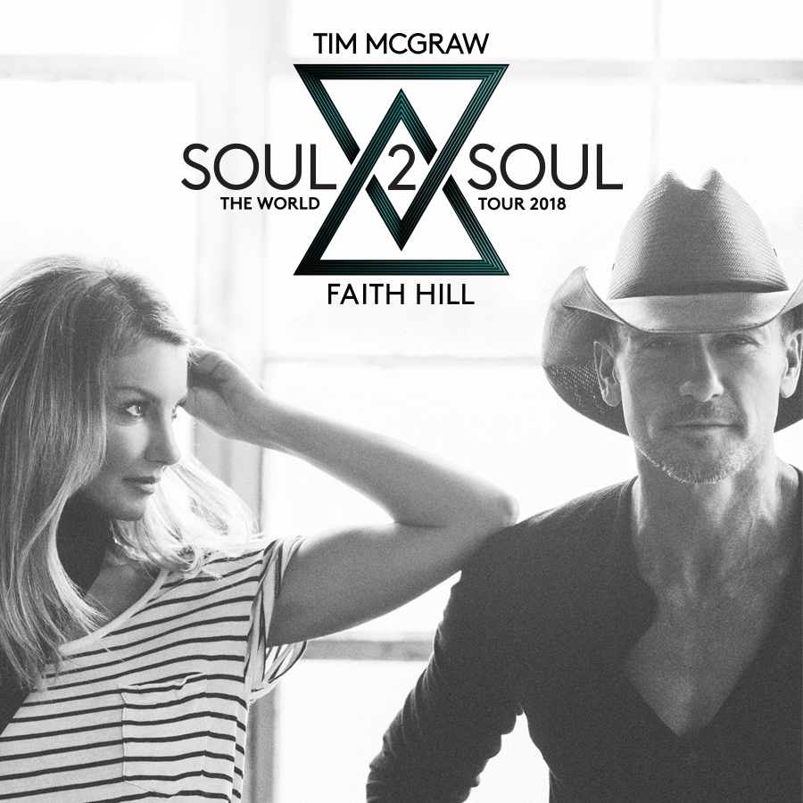7/20: Tim McGraw and Faith Hill