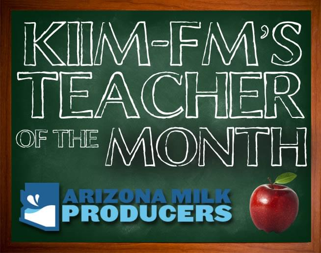 Teacher of the Month – September