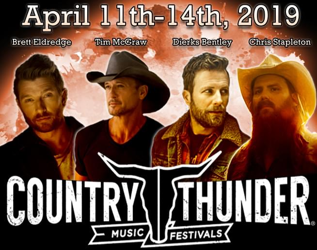 Country Thunder AZ LINEUP IS HERE!