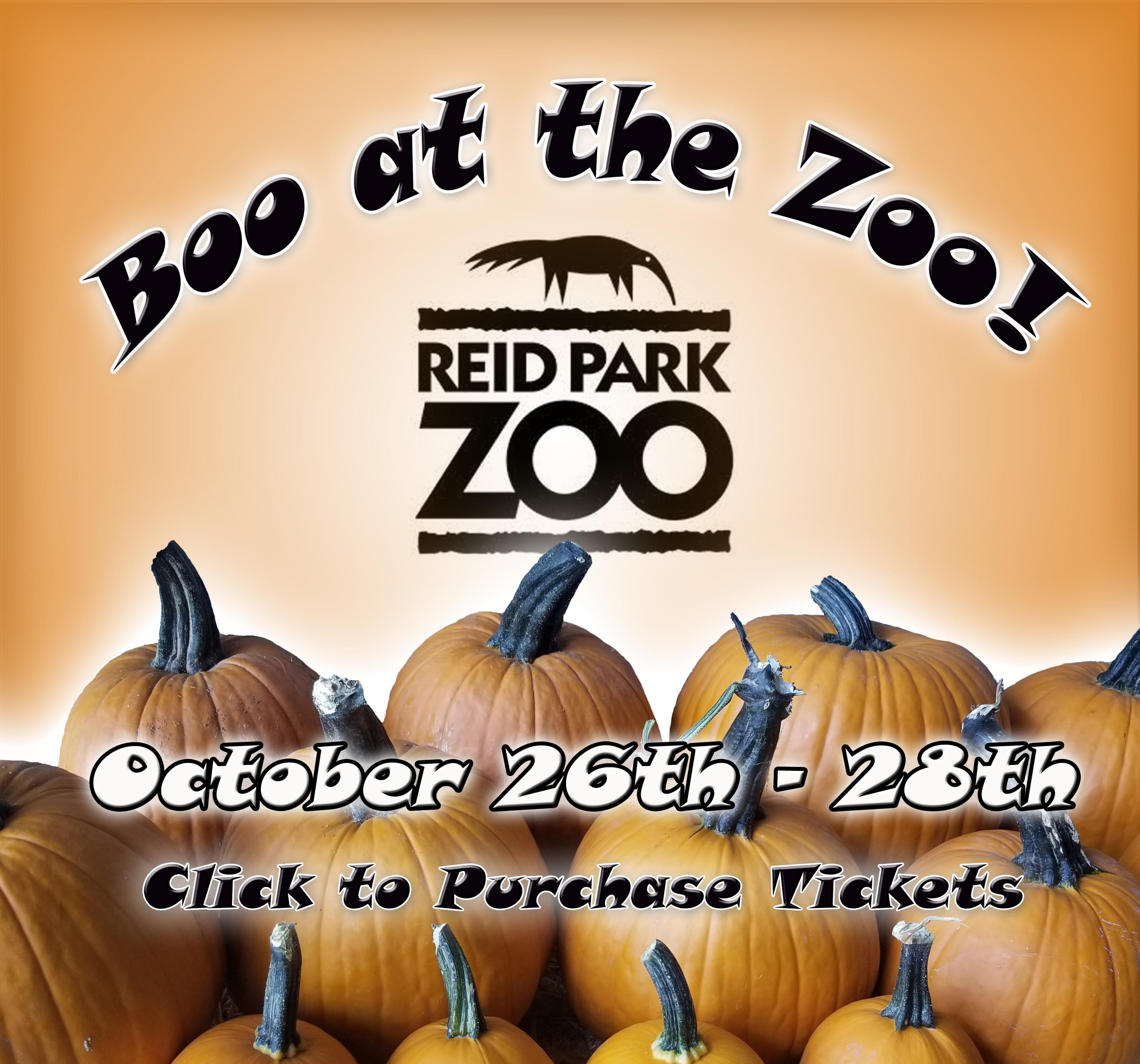 10/26-10/28: Boo at the Zoo