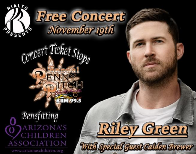 Penny Pitch Concert with RILEY GREEN!