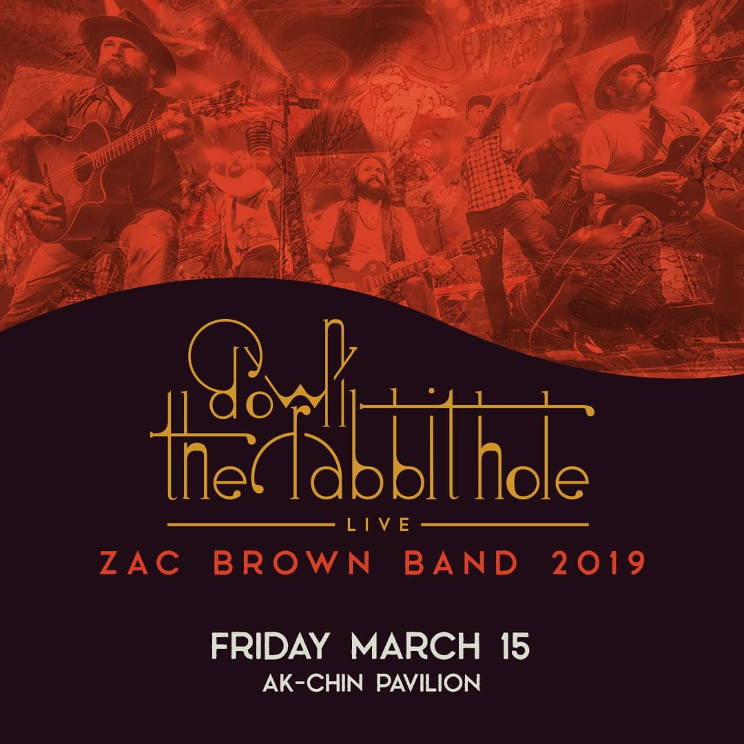 3/15: Zac Brown Band at Ak-Chin Pavilion