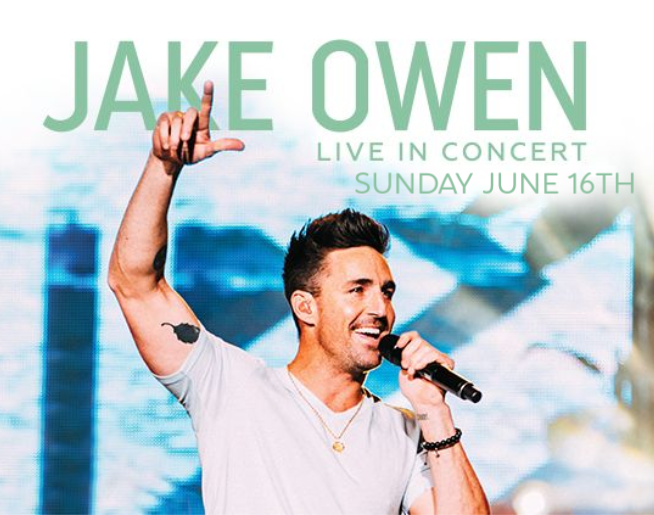 Jake Owen at AVA Amphitheater