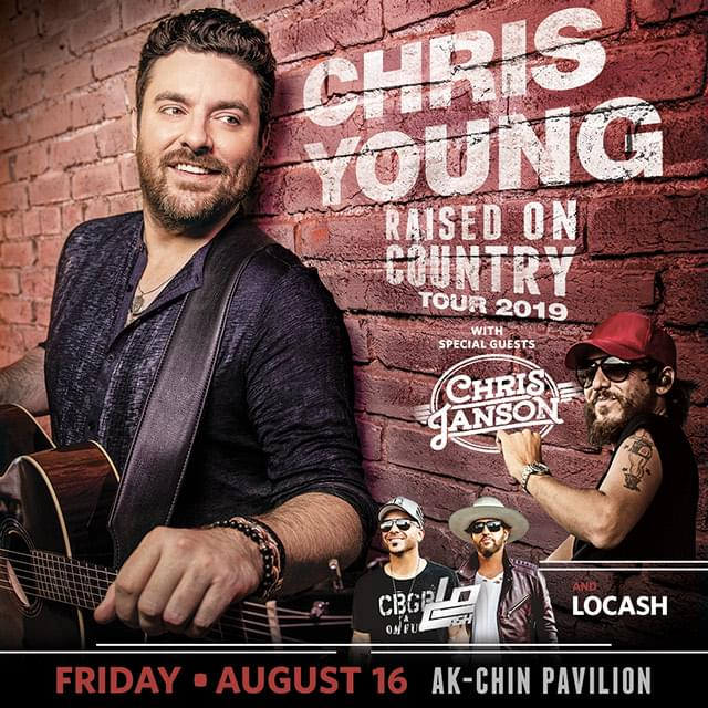 8/16: Chris Young at Ak-Chin Pavilion