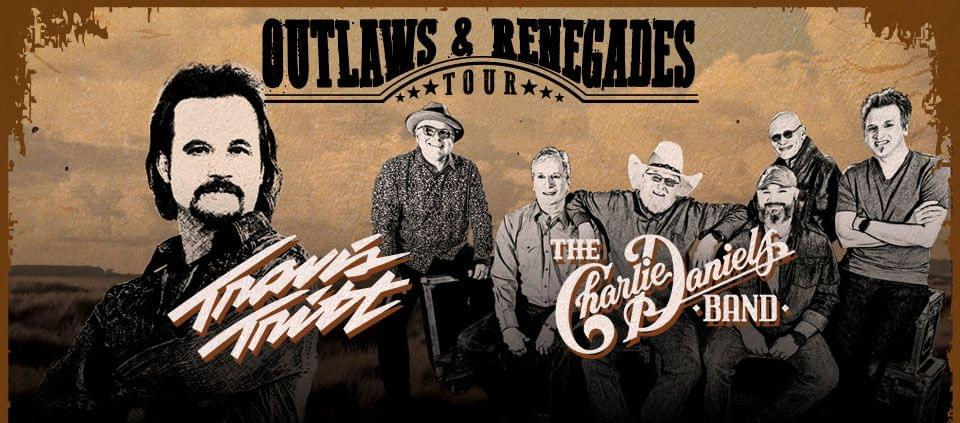8/25: Travis Tritt, Charlie Daniels with Love and Theft at AVA Amphitheater