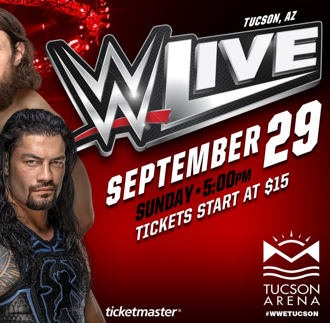 9/29: WWE Live at Tucson Arena