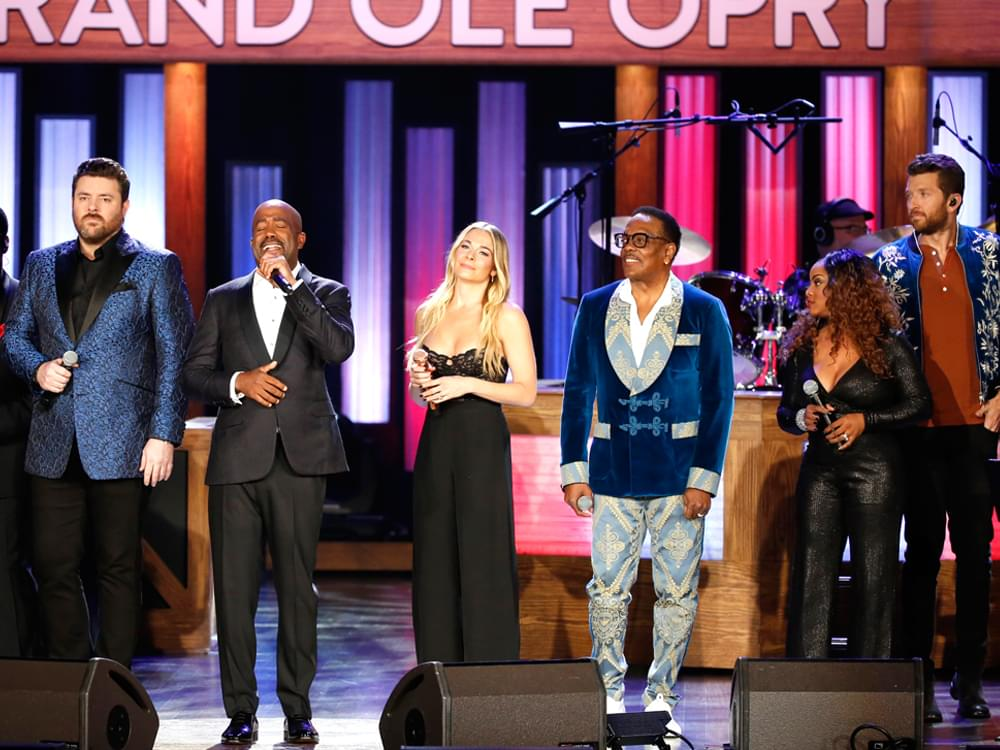 """""""Opry Salute to Ray Charles"""" TV Special With Darius Rucker, Chris Young, Trisha Yearwood & More to Premiere on PBS on Aug. 15"""