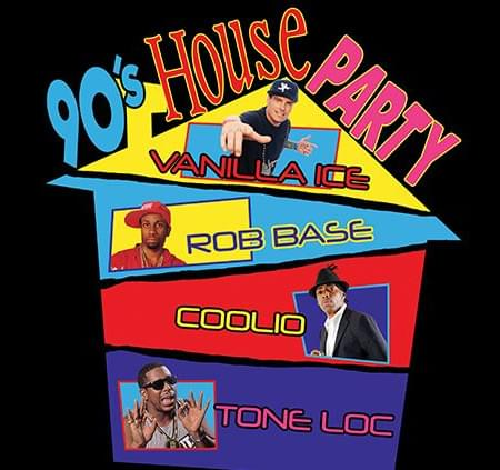 5/25: 90's House Party at AVA