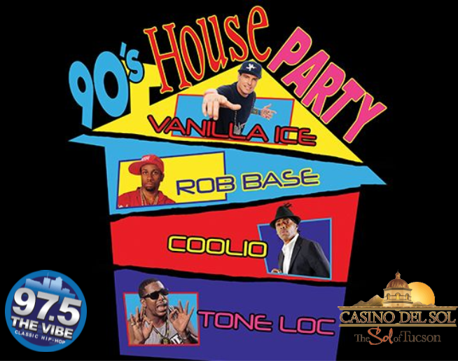 90's House Party at AVA