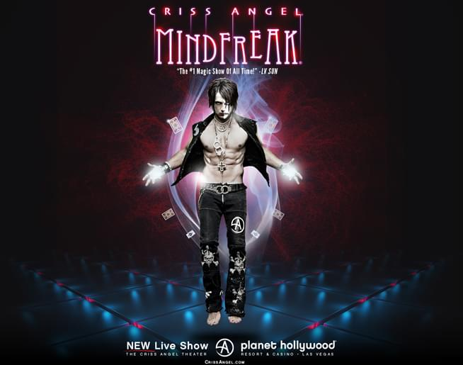 Criss Angel MINDFREAK in Las Vegas!