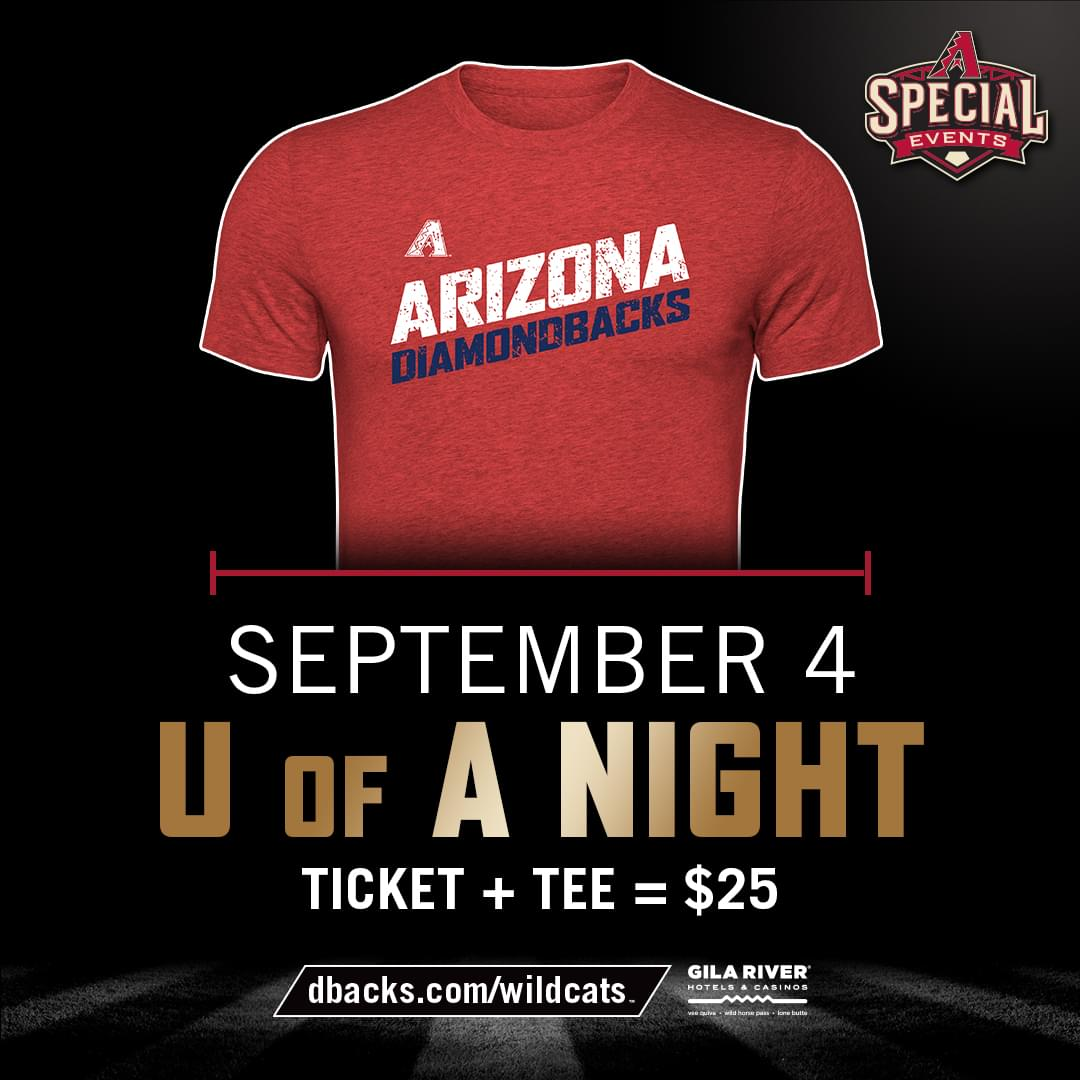 9/4: U of A Night at D-Backs