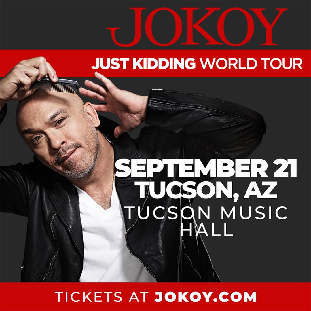 9/21: Jo Koy at Tucson Music Hall