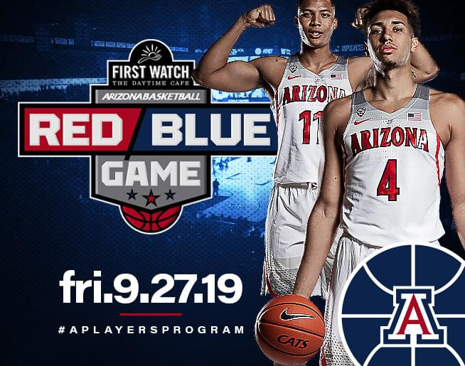 Arizona Basketball Red Blue Game!