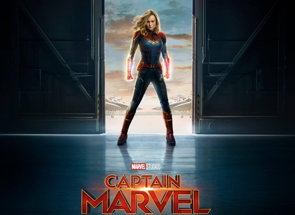 WATCH: Captain Marvel's first official trailer.