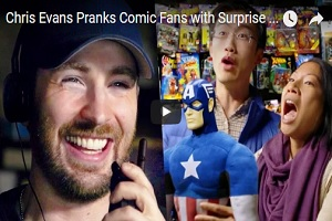 Captain America Pranks Fans