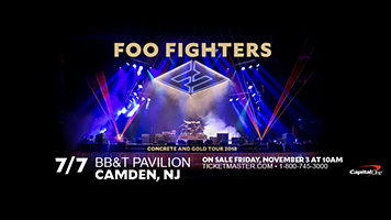 Foo Fighters 2018 Tour