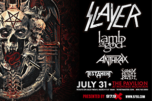 979X Presents Slayer