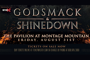 979X Presents Godsmack & Shinedown