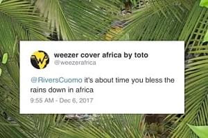 "Weezer Covers Toto's ""Africa"""