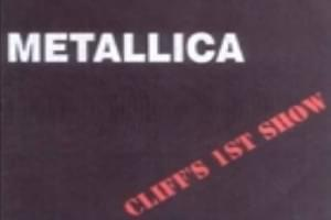 Cliff's 1st Show with Metallica
