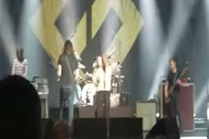 Drunk Guy Almost Ruins Foo Fighters' Stage