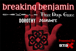 979X Presents Breaking Benjamin