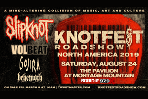 979X Presents: Knotfest Roadshow