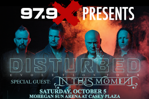 979X Presents: Disturbed