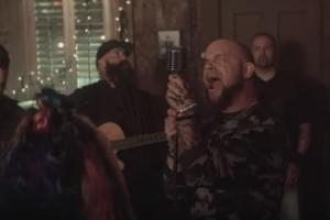 Five Finger Death Punch and Guests cover 'Blue on Black'