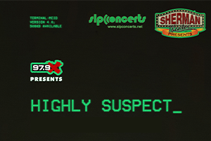 979X Presents: Highly Suspect