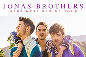 Jonas Brothers in Hershey