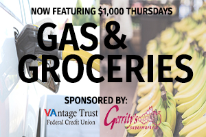 Gas and Groceries Returns!