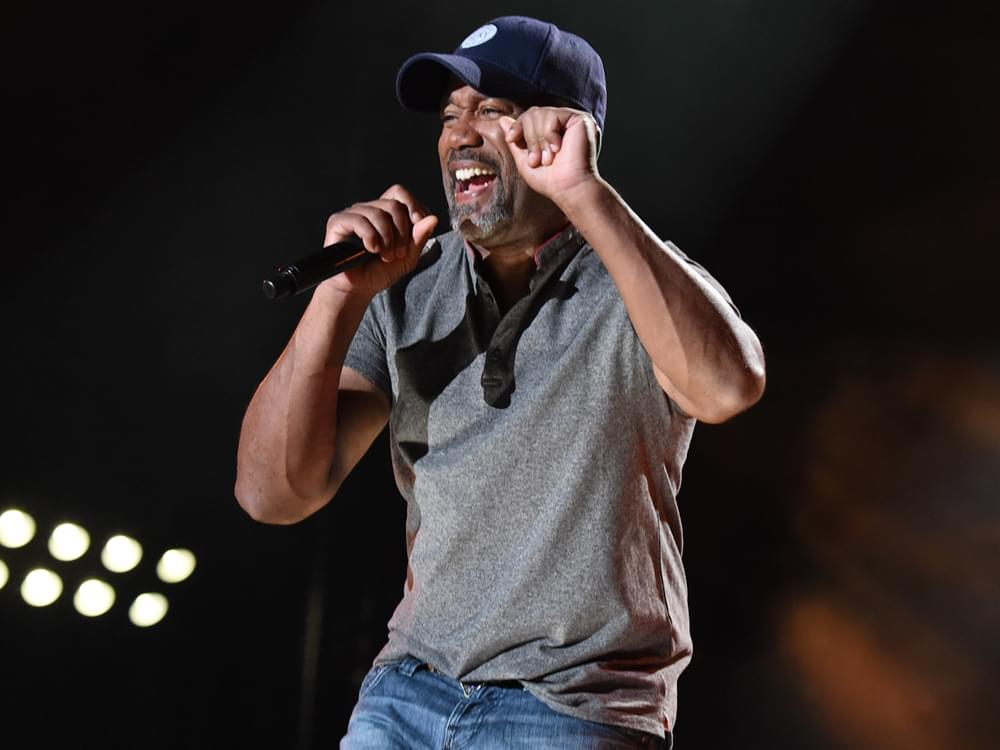 "Darius Rucker to Open for Garth Brooks: ""I'm About to Poop My Pants I'm So Excited"""
