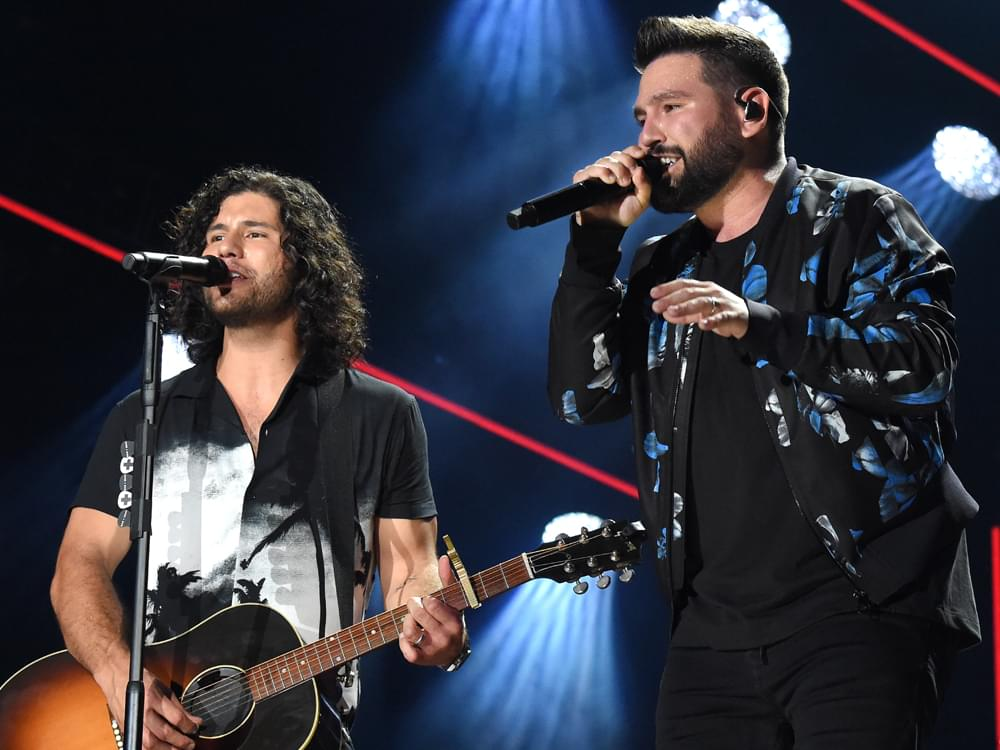 "Dan + Shay Score 6th No. 1 Single With ""All to Myself"""