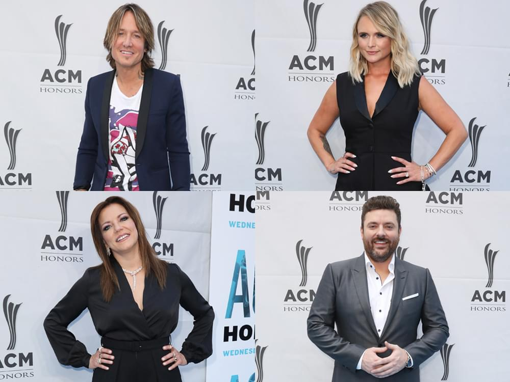 Photo Gallery: Miranda Lambert, Keith Urban, Chris Young, Martina McBride & More Walk the Red Carpet at ACM Honors