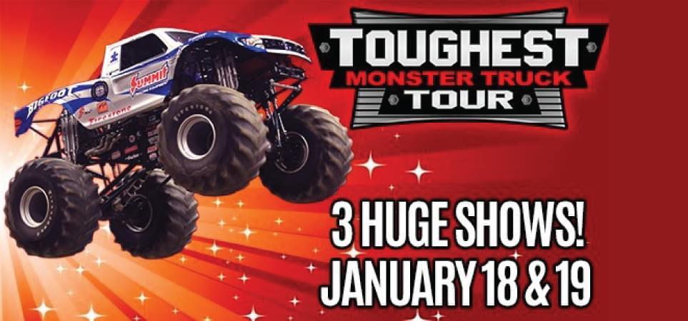 Toughest Monster Truck Tour 12 Days of Christmas
