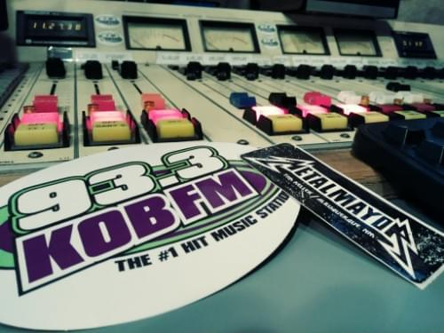 Mayor Tim Keller stops by KOB FM Studio