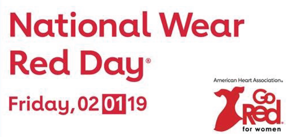 National Wear Red Day | February 1, 2019