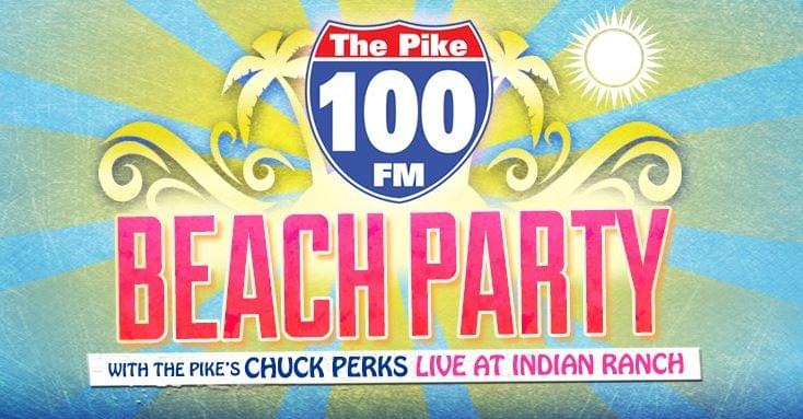Pike Beach Party Friday July 20th with Chuck Perks