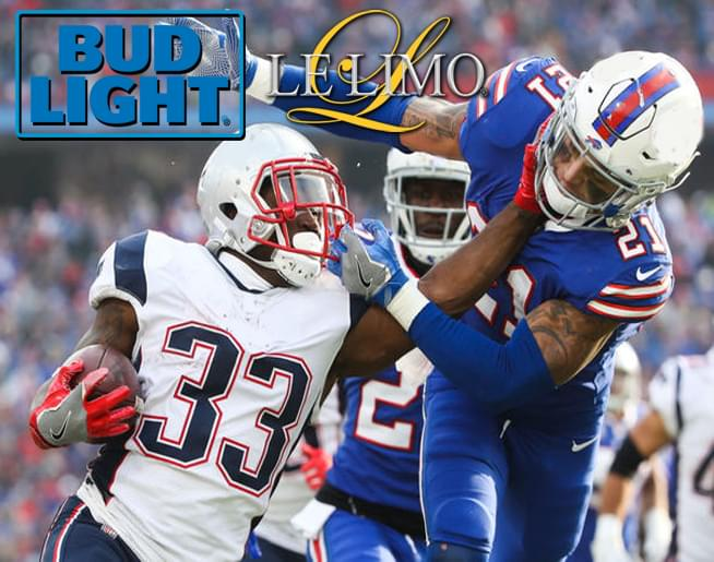 See New England vs Buffalo LIVE in Foxborough!