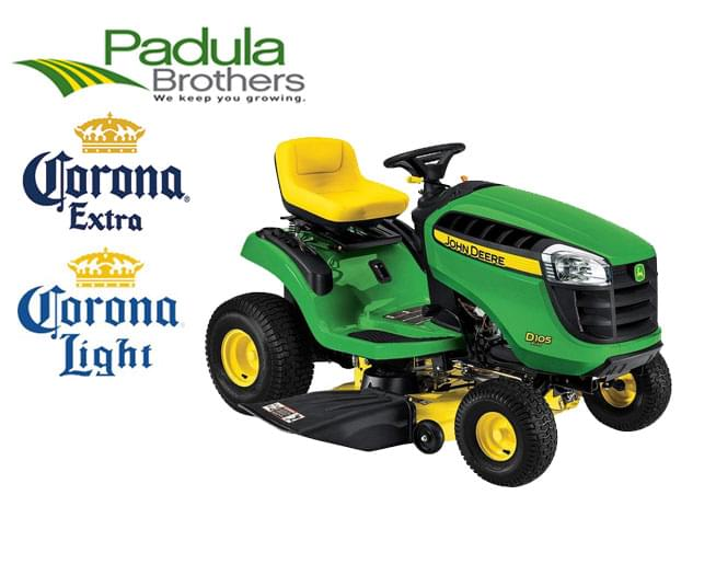 Win a John Deere tractor with cart!!!