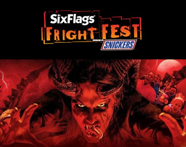 Jen & Frank chat about Six Flags Fright Fest!!!
