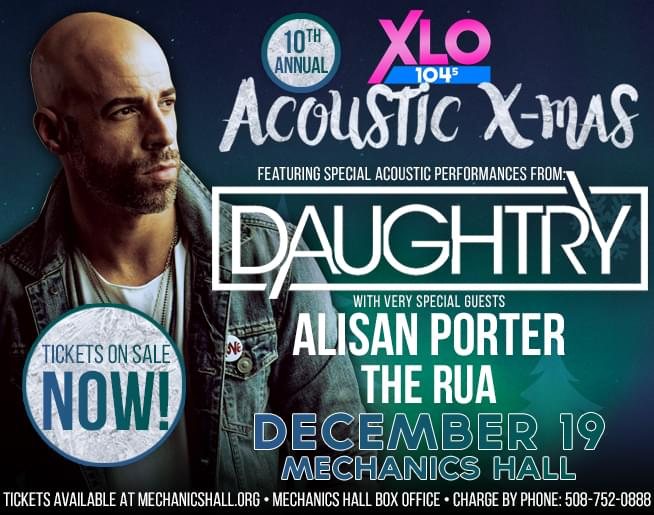 Jen & Frank chat with Daughtry about Acoustic X-Mas