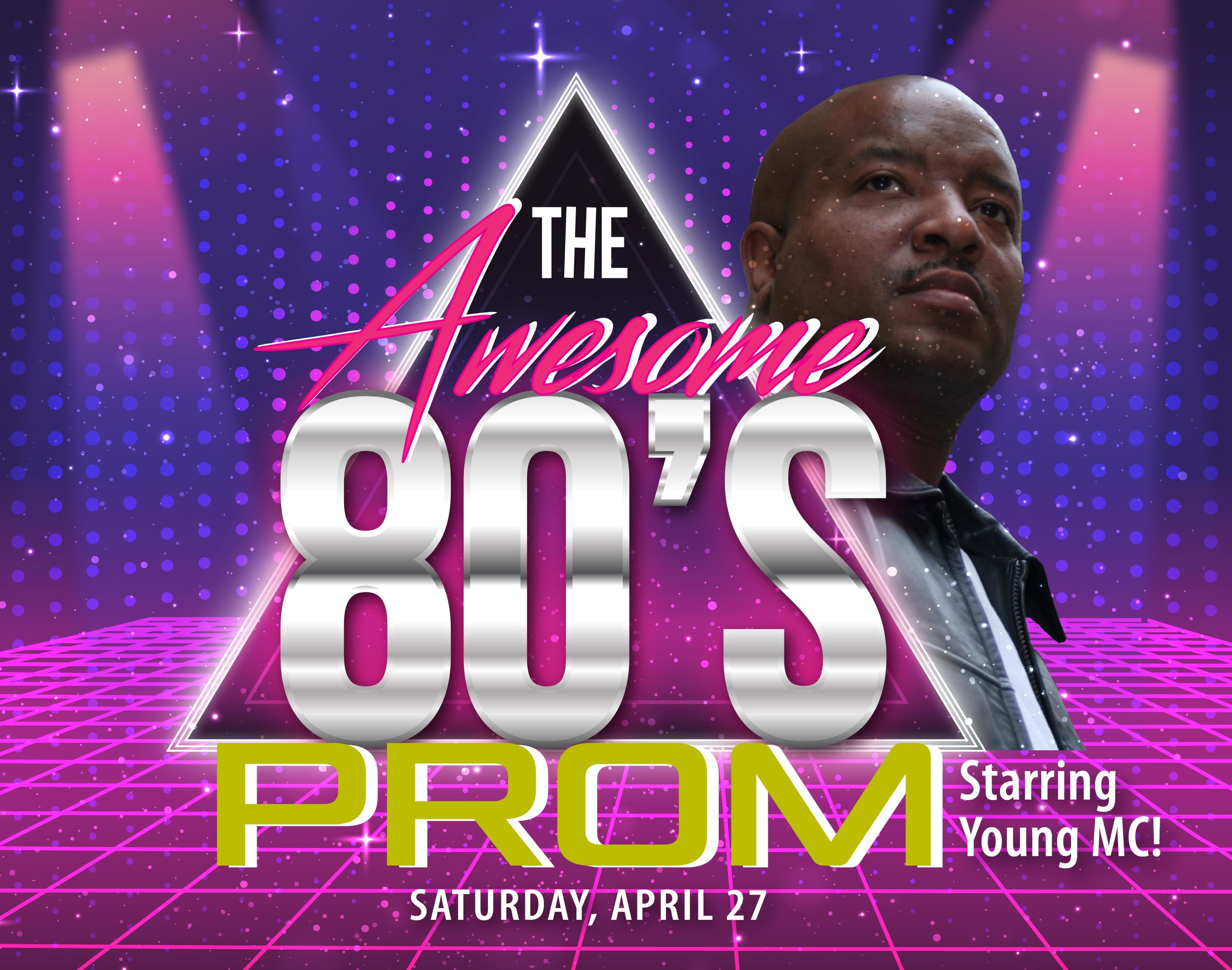 Jen & Frank talk to Young MC about 104-5's Awesome '80s Prom!