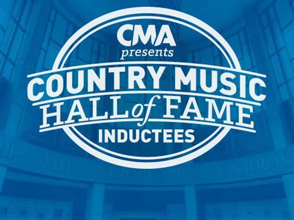 [Live] Watch the Country Music Hall of Fame Announce Its Class of 2019