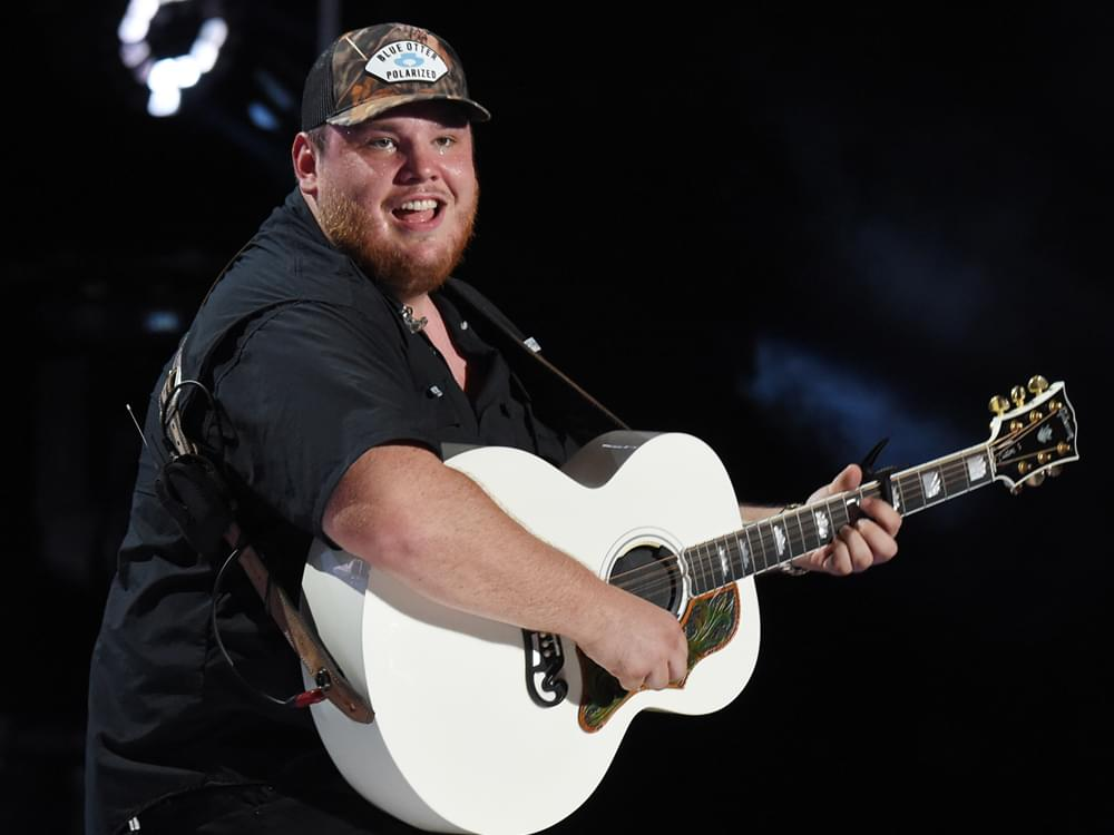 Luke Combs' Singles Have Spent 18 Weeks at No. 1 (And Counting)