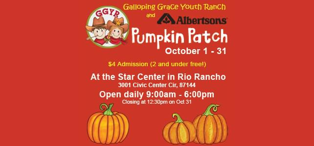 Youth Ranch Pumpkin Patch
